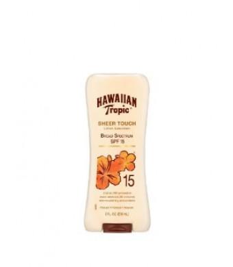 Hawaiian Tropic Sheer Touch Sunscreen Lotion SPF 15, 8 Fluid Ounce