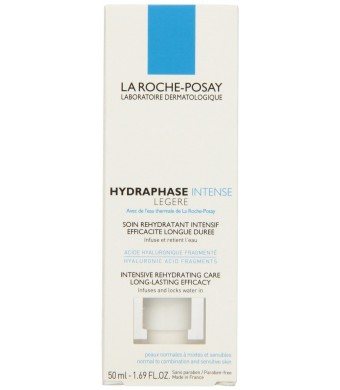 La Roche-posay Hydraphase Intensive Legere Rehydrating Care Moisturizer, 1.69 Fluid Ounce
