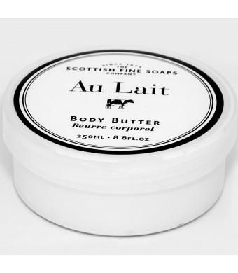Scottish Fine Soaps Au Lait Extra Nourishing Body Butter - 8.8 oz. Jar