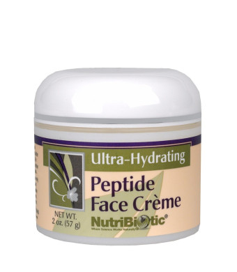 Nutribiotic Anti-Aging Peptide Face Creme, 2 Ounce