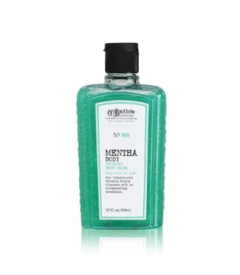 Bath and Body Works Co Bigelow No 1411 Mentha Body Vitamin Wash with Peppermint Oil,10 oz.