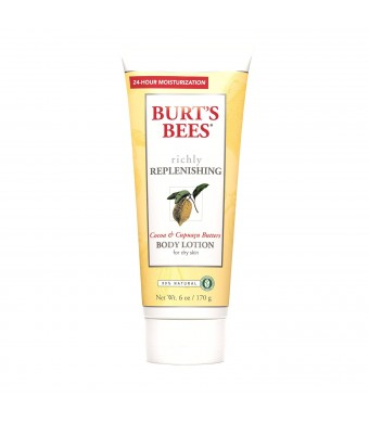 Burt's Bees Cocoa and Cupuacu Butters Body Lotion, 6 Ounces