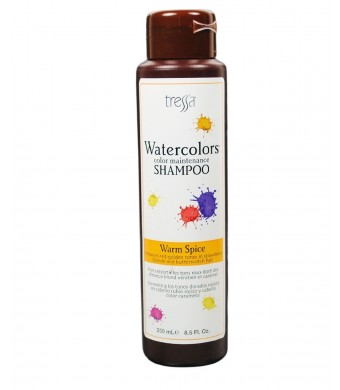 Tressa Watercolors Shampoo - Warm Spice 8.5 oz