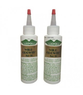 "Wild Growth Hair Oil 4oz ""Pack of 2"""