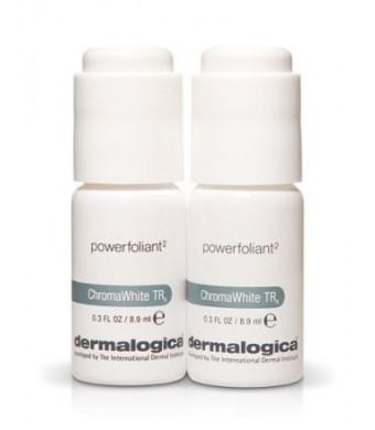 Dermalogica Chroma White Powerfoliant 2 Vials x 0.3 oz for Skin Tone