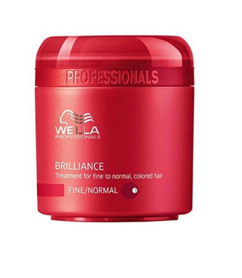 Wella Brilliance Treatment for Fine to Normal Colored Hair 16.9 oz