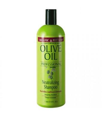 Organic Root Stimulator Olive Oil Professional Neutralizing Shampoo, 33.8 Ounce