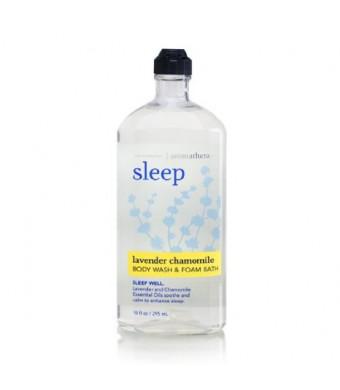 Bath Body Works Aromatherapy Sleep Lavender Chamomile 10 oz Body Wash Foam Bath
