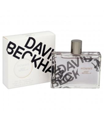 David Beckham Homme Eau de Toilette Spray for Men, 2.5 Ounce