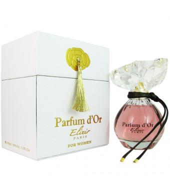 Kristel Saint Martin Parfum D'or Elixir Eau de Spray for Women, 3.3 Ounce