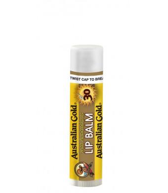 Australian Gold SPF 30 Lip Balm, 0.15 Ounce (Pack of 4)
