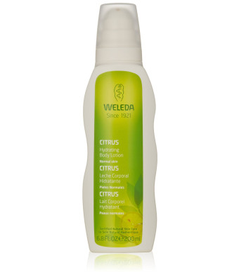 Weleda Hydrating Body Lotion, Citrus, 6.8 Fluid Ounce