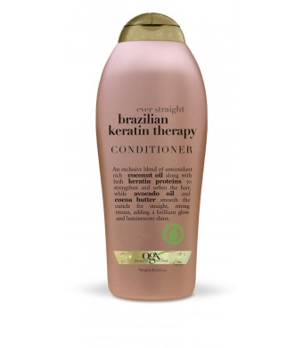 OGX Conditioner, Ever Straight Brazilian Keratin Therapy, 25.4oz