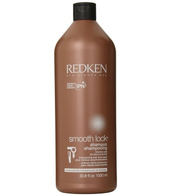 Redken Smooth Lock Shampoo, 33.8 Ounce