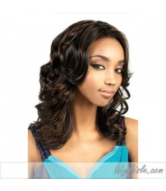 SK-DEMI (Motown Tress) - Synthetic Full Wig in DARKEST BROWN