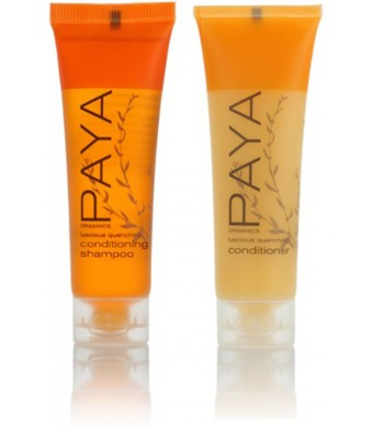 PAYA Organics Luscious Quenching Shampoo and Conditioner lot of 16 (8 of each) 1oz bottles