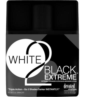 White 2 Black Extreme Advance Black Bronzer 3 Shades Darker 8.5z