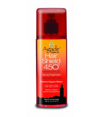 Agadir Argan Oil Hair Shield for Unisex Treatment, 6.7 Ounce