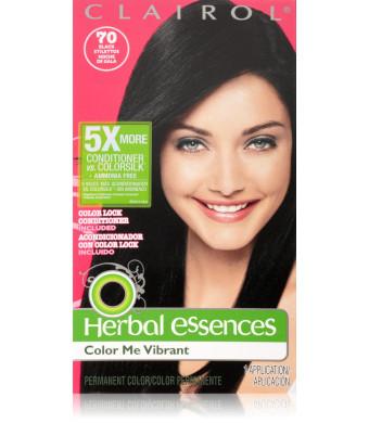 Herbal Essences Color Me Vibrant Permanent Hair Color 070 Black Stilettos 1 Kit
