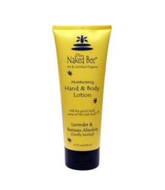 The Naked Bee Lavender and Beeswax Absolute 6.7oz Lotion