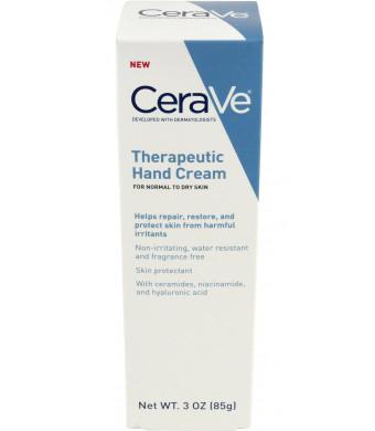 CeraVe Therapeutic Hand Cream, 3 Ounce