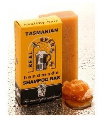 Real Beer Shampoo Bar from Tasmania Australia 100% Natural - No Plastic Bottles