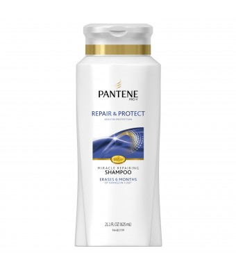 Pantene Repair and Protect Shampoo, 21.1 Fl Oz, 21.100-Fluid Ounce