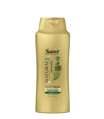 Suave Professionals Conditioner, Natural Infusion Seaweed and Lotus Blossom 28 oz