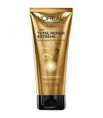 LOreal Paris Advanced Haircare Total Repair Extreme Emergency Recovery Mask, 6.8 oz