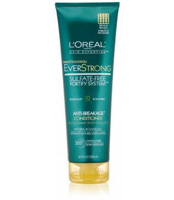 L'Oreal Paris Hair Expertise EverStrong Anti-Breakage Conditioner, 8.5 Fluid Ounce