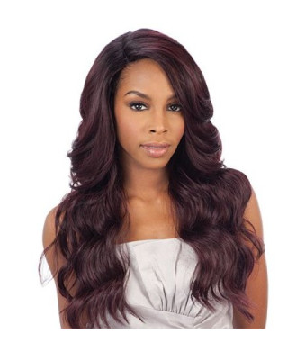 Freetress Equal Brazilian Natural Deep Invisible L Part Lace Front Wig DANITY (OP27)