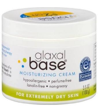 Glaxal Base Moisturizing Cream for Extremely Dry Skin, 3.5 Oz.