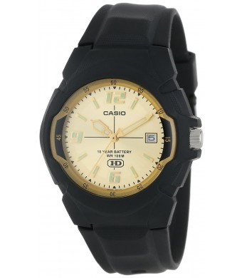 CASIO Men's MW600F-9AV 10-Year Battery Sport Watch