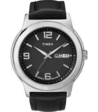 Timex Men's Black Dial Watch
