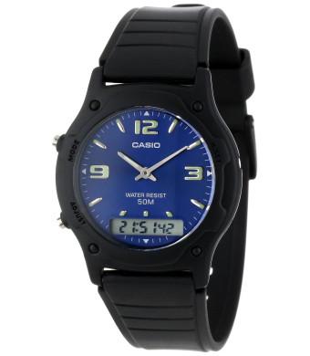 "Casio Men's AW49HE-2AV ""Ana-Digi""  Sport Watch"
