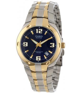 "Casio Men's EF106SG-2AV ""Edifice""  Two-Tone Stainless Steel Watch"
