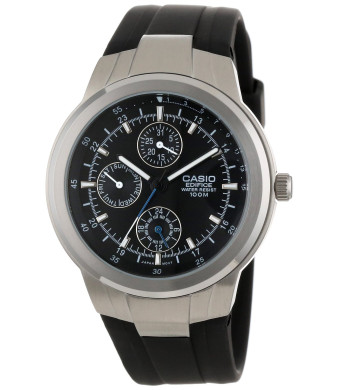 "Casio Men's EF305-1AV ""Edifice""  Multifunction Analog Watch"