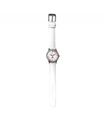 Dakota 56548 Womens White Leather Nurse Watch