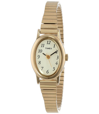 "Timex Women's T21872 ""Cavatina""  Classics Gold-Tone Expansion Band Watch"