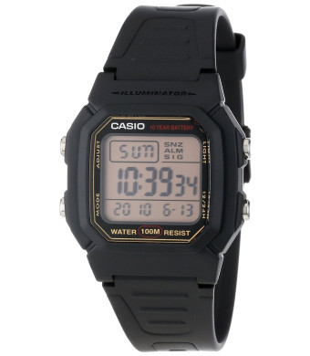Casio Men's W800HG-9AV Classic Digital Sport Watch