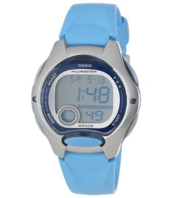 Casio Women's LW200-2BV Digital Blue Resin Strap Watch