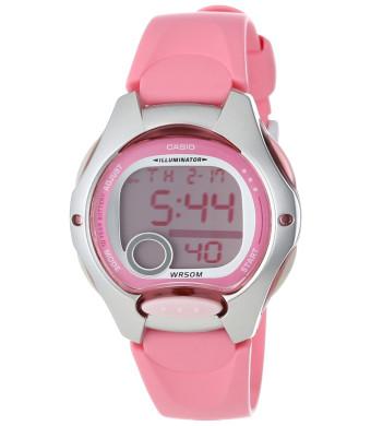 Casio Women's LW200-4BV Pink Resin Digital Watch