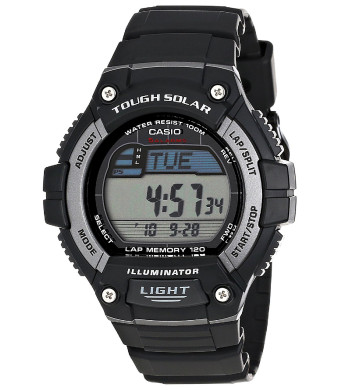 "Casio Men's WS220-1A ""Tough Solar""  Digital Sport Watch"