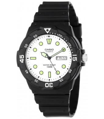 Casio Men's MRW200H-7EV Sport Resin Dive Watch