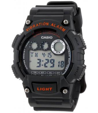 Casio Men's W735H-8AVCF Super Illuminator Black Watch
