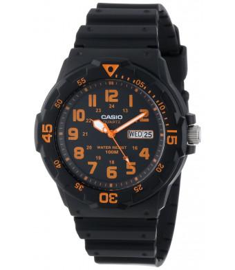 """Casio Unisex MRW200H-4BV """"Neo-Display""""  Watch"""