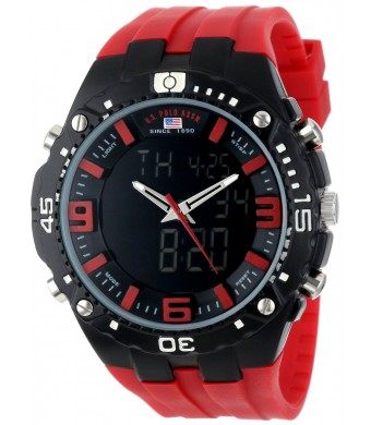 U.S. Polo Assn. Sport Men's US9173 Sport Watch