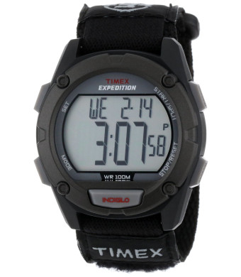 "Timex Men's T499499J ""Expedition""  Resin Digital Watch with Black Nylon Band"