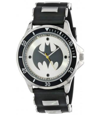 Batman Men's BAT9062 Black Rubber Strap Analog Watch