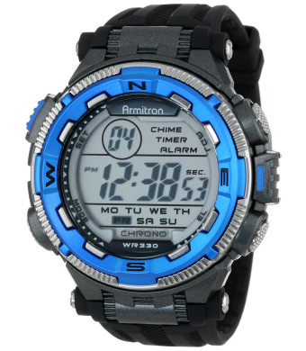 Armitron Sport Men's 40/8301 Sport Watch with Black Resin Band